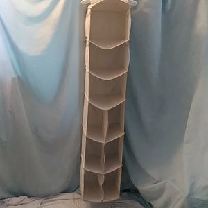 Other - Fabric tan compartment closet organizer